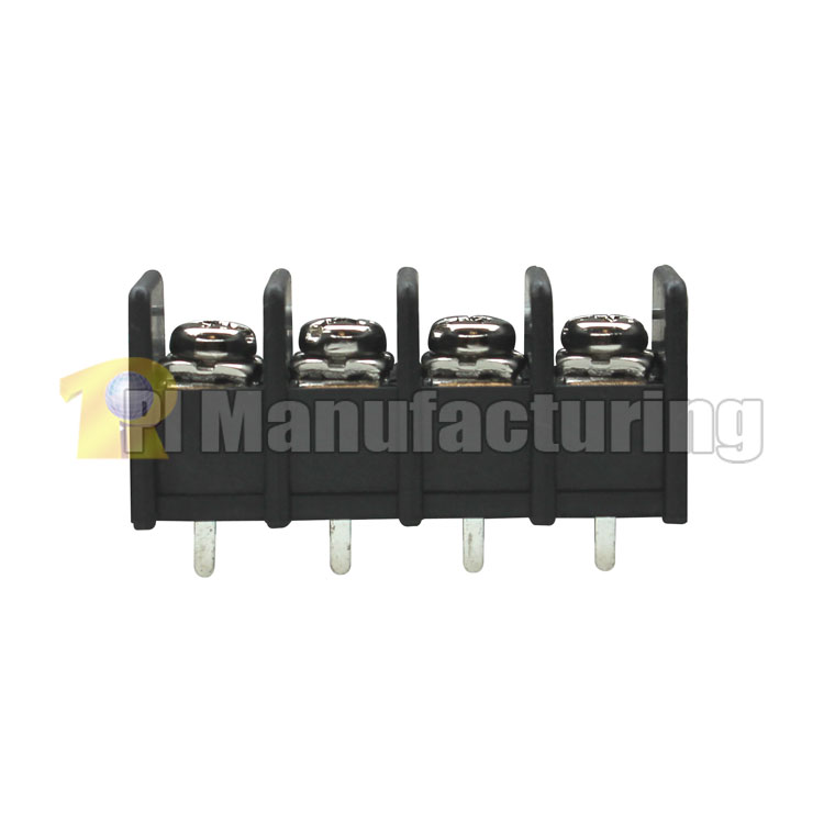 Barrier Type Terminal Block, pitch: 10mm, hd-10, 4 pin