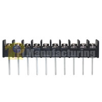 Barrier Type Terminal Block, pitch: 10mm, hd-10, 10 pin