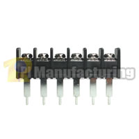 Barrier Type Terminal Block, pitch: 10mm, hd-10, 6 pin