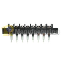 Barrier Type Terminal Block, pitch: 10mm, hd-10 series, 8 pin 10 pole