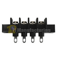 Barrier Type Terminal Block, pitch: 11mm, hd-30 series, 4 pin 6 pole