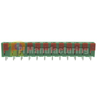 Barrier Type Terminal Block, Pitch: 7.62mm, Pin: 12