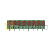 Barrier Type Terminal Block, Pitch: 7.62mm, Pin: 8