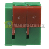 Barrier Type Terminal Block, Pitch: 5mm, Pin: 2