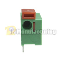 Barrier Type Terminal Block, Pitch: 7.62mm, Pin: 1