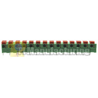 Barrier Type Terminal Block, Pitch: 7.62mm, Pin: 14
