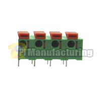 Barrier Type Terminal Block, Pitch: 7.62mm, Pin: 4