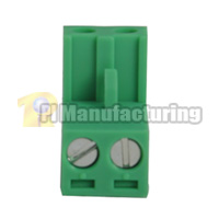 Pluggable Type Terminal Block, Pitch: 5.08mm, Pin: 2