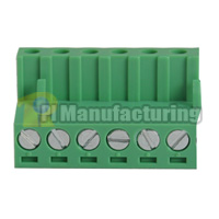 Pluggable Type Terminal Block, Pitch: 5.08mm, Pin: 6