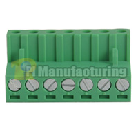 Pluggable Type Terminal Block, Pitch: 5.08mm, Pin: 7