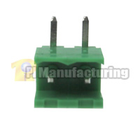 Pluggable Type Terminal Block, Pitch: 5mm, Pin: 2