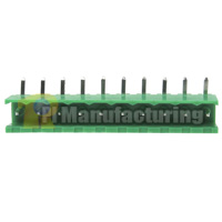 Pluggable Type Terminal Block, Pitch: 5.08mm, Pin: 10