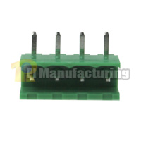 Pluggable Type Terminal Block, Pitch: 5.08mm, Pin: 4