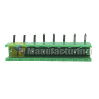 Pluggable Type Terminal Block, Pitch: 5.08mm, Pin: 8