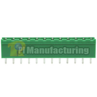 Pluggable Type Terminal Block, Pitch: 5mm, Pin: 12