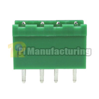 Pluggable Type Terminal Block, Pitch: 5mm, Pin: 4