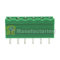 Pluggable Type Terminal Block, Pitch: 5mm, Pin: 6