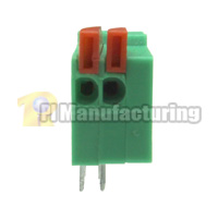 Barrier Type Terminal Block, Pitch: 2.54mm, Pin: 2