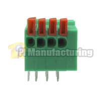 Barrier Type Terminal Block, Pitch: 2.54mm, Pin: 4