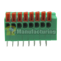 Barrier Type Terminal Block, Pitch: 2.54mm, Pin: 8