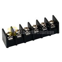 Barrier Type Terminal Block, Pitch: 8.25mm, Pin: 6