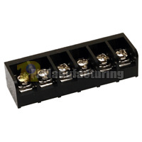 Closed Barrier Type Terminal Block, Pitch: 8.25mm, Pin: 6