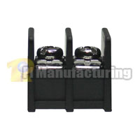Barrier Type Terminal Block, pitch: 9.5mm, 200 series, 2 pin