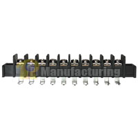 Barrier Type Terminal Block, pitch: 9.5mm, 203 series, 10 pin 12 pole