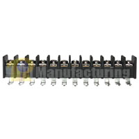 Barrier Type Terminal Block, pitch: 9.5mm, 203 series, 12 pin