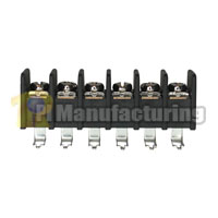 Barrier Type Terminal Block, pitch: 9.5mm, 203 series, 6 pin