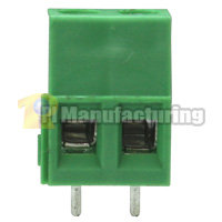 PCB Type Terminal Block, Pitch: 5mm, Pin: 2, Dovetailed