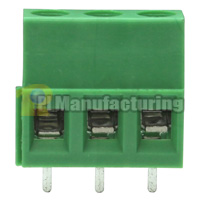 PCB Type Terminal Block, Pitch: 5mm, Pin: 3, Dovetailed