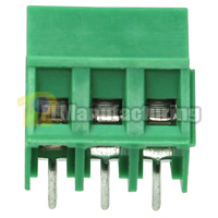 Barrier Type Terminal Block, Pitch: 5mm, Pin: 3, Dovetailed
