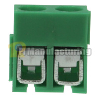 Barrier Type Terminal Block, Pitch: 5mm, Pin: 2, Dovetailed