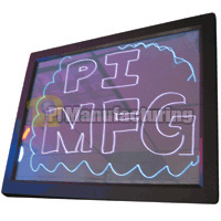 Illuminated menu board, power input: 4.5vdc, wall or stand