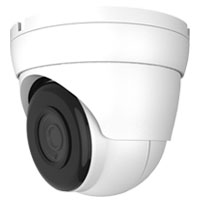 2.1MP Outdoor IP Dome Camera, 2.8mm Lens, H.265, 98ft IR (with PoE, Microphone)