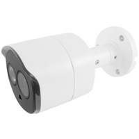 4MP Fixed Outdoor IP Bullet Camera 3.6mm Lens, H.265, 90ft IR (With PoE)