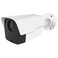 5MP Outdoor IP Bullet Camera, 2.8-12mm Motorized Varifocal Lens, H.265, 164ft IR (with PoE, Audio In/Out, Alarm I/O, Reset,  and BNC Video Output)