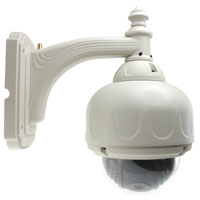 720p IP66 Outdoor Wireless IP Dome PTZ Camera, 6mm Lens ONVIF