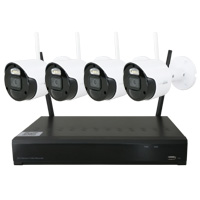 2.1MP HD Wireless 4 Channel Kit NVR Security System with 2TB HDD Included