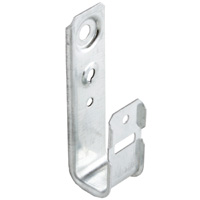 "3/4"" Wall Mount J-Hook"