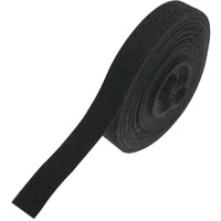 Hook and Loop Cable Tie Roll 32 feet Long x 0.78 inch Wide - Black