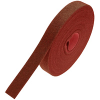 Hook and Loop Cable Tie Roll 32 feet Long x 0.78 inch Wide - Red