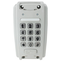 Waterproof EM Proximity Access Control System with Keypad Entry (2000 Users)