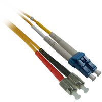 Fiber Optic Cable, LC to FC, Single-mode Duplex (9/125) -  15 Meter
