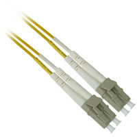 Fiber Optic Cable, LC to LC, Multimode Duplex (62.5/125) - 2 Meter - Yellow