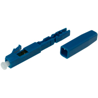 LC Quick Assembly Connector Blue Housing Single-mode 9/125 for Drop Cables - 10pcs/pack