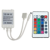 24 Button RGB Remote Controller for LED Light Strip (12V DC)