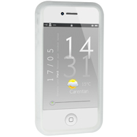 iPhone 4 / 4S Silicone Bumper - Clear (AT&T / Verizon / Sprint)
