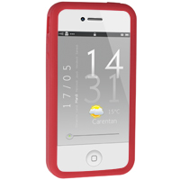 iPhone 4 / 4S Silicone Bumper - Red (AT&T / Verizon / Sprint)